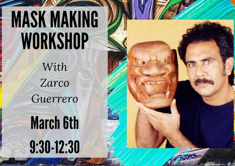 Mask Workshop advertisement featuring Zarco Guerrero
