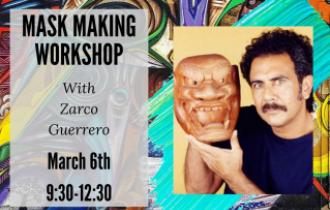 Mask Workshop advertisement featuring Zarco Guerrero