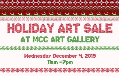 Come browse original artwork from MCC faculty, staff, and students! Free and open to the public.