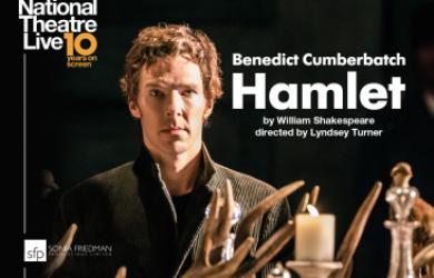 NT Live poster featuring Benedict Cumberbatch