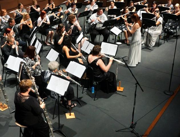 Flute band