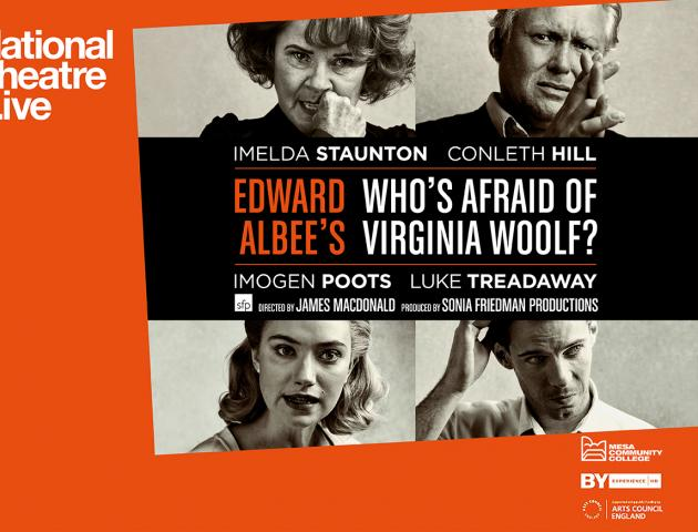 Who's Afraid of Virginia Woolf? Poster featuring all 4 actors