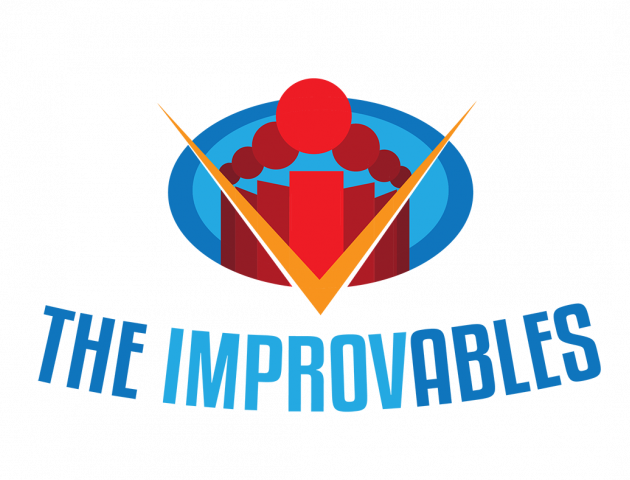 The Improvables Logo, based on the Incredibles graphic Style