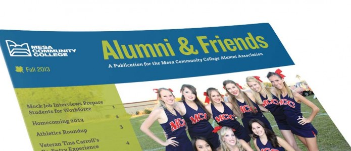 Alumni & Friends Newsletter and Emails Boast New Look
