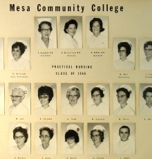 Fall Class of 1966 - Practical Nursing