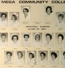 Fall Class of 1967 - Practical Nursing
