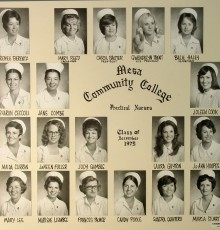 December Class of 1975 - Practical Nursing