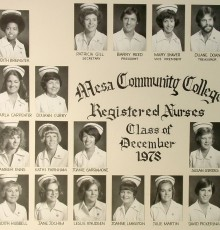 December Class of 1978 - AA Degree