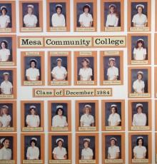 December Class of 1984 - AA Degree