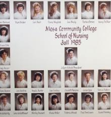 Fall Class of 1985 - AA Degree