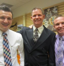 Tyler Adair, Bryce Bunker, and Bill Lowman - AAS in Mortuary Science