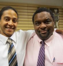 Tyler and Tony Parker - Mortuary Science Program Graduates
