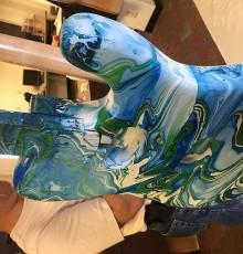 Second view of swirled design