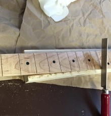 Fingerboard and neck construction