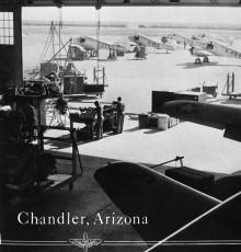 Vintage photo of Williams Field