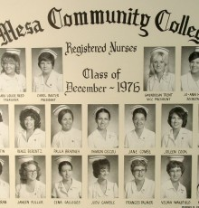 December Class of 1976 - AA Degree