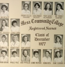 December Class of 1977 - AA Degree