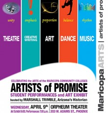 Artists of Promise Poster