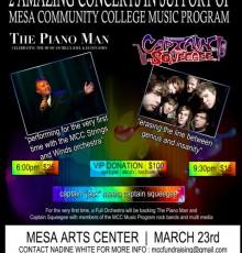 Concert Flyer for MAC Concert