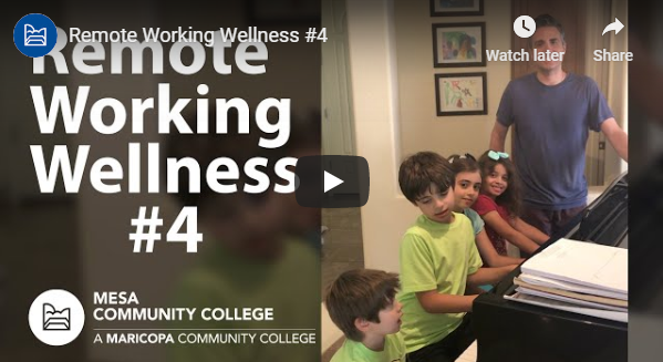 Remote Working Wellness Video