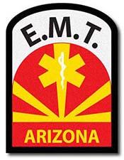 E.M.T. Arizona patch