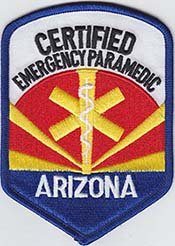 Certified Emergency Paramedic patch