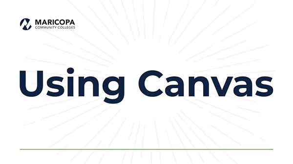 Using Canvas video tutorial