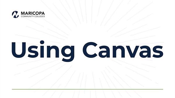 Using Canvas video tutorial