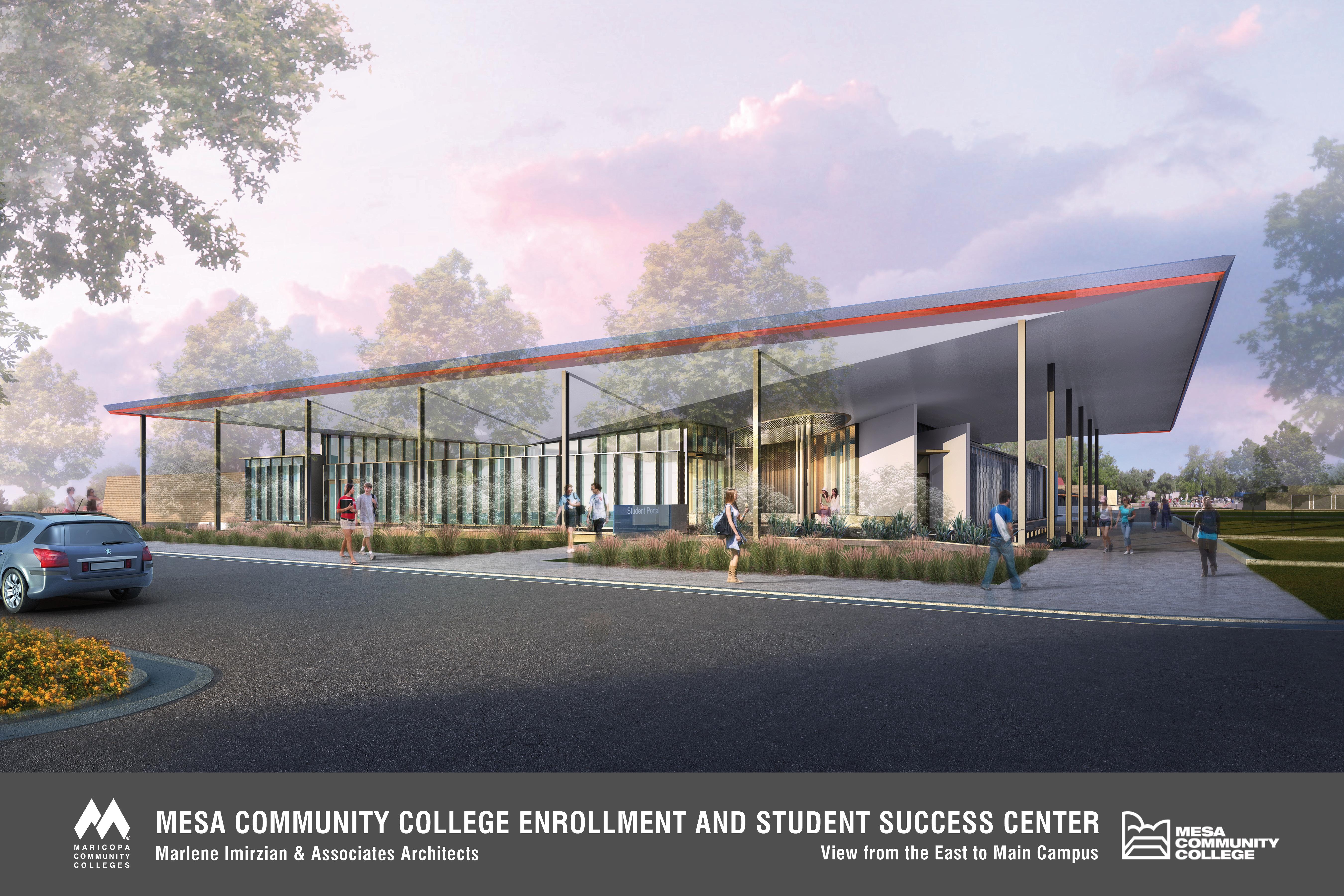 Enrollment Center | Campus Construction | Mesa Community College