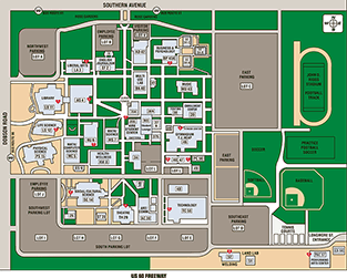 Southern & Dobson Interactive Campus Map