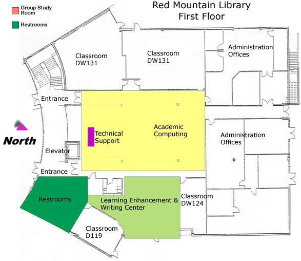 Printable Map of Southern and Dobson MCC Campus (page 3 ...