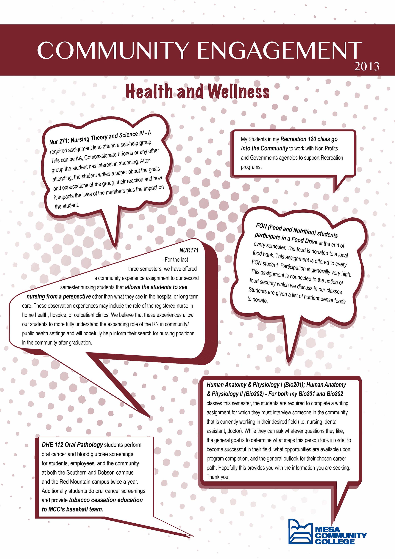 community and public health nursing reflection Reflection on community/public health nursing this essay describes the positive features derived from having taken a community/public health nursing course.