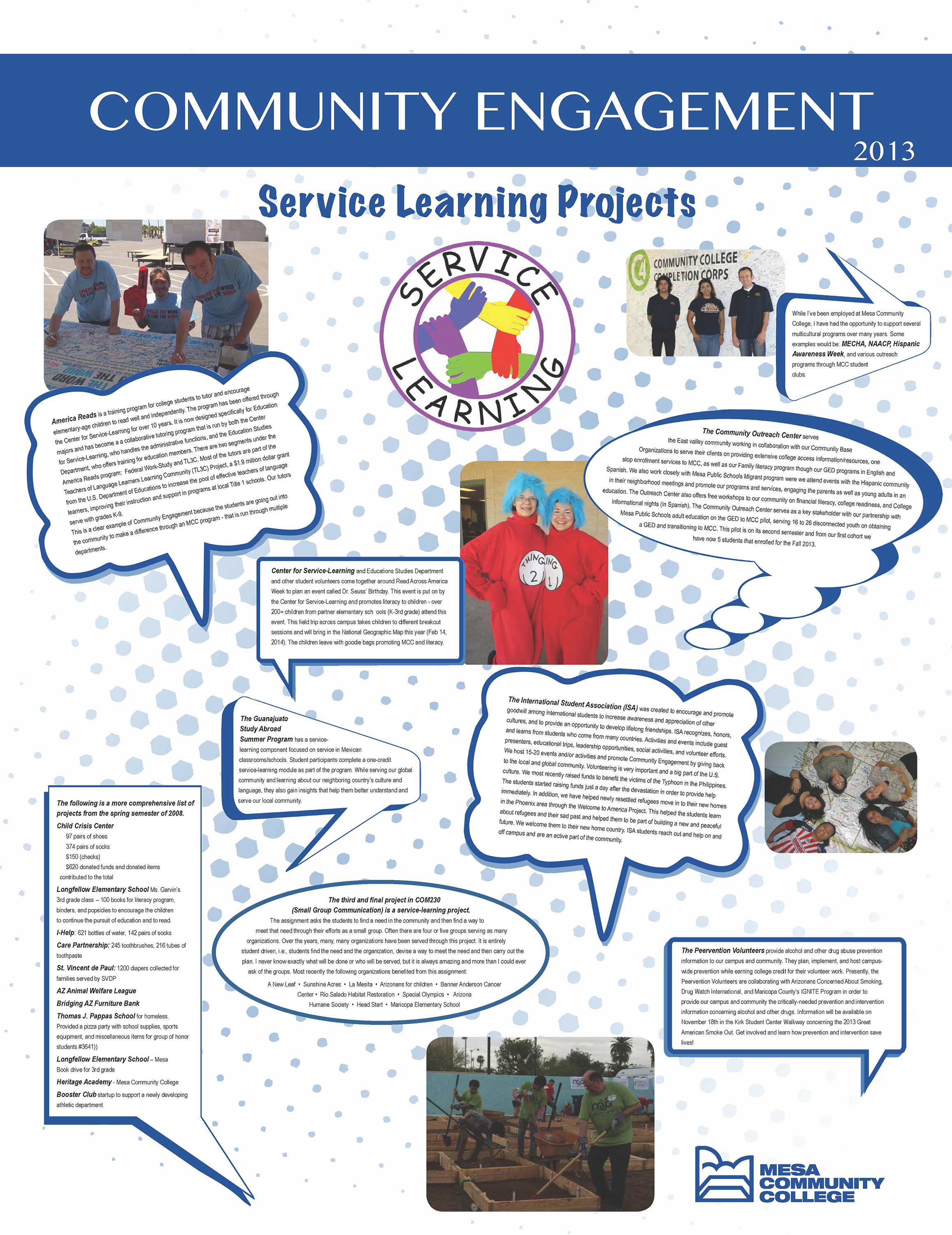 Essay service learning project