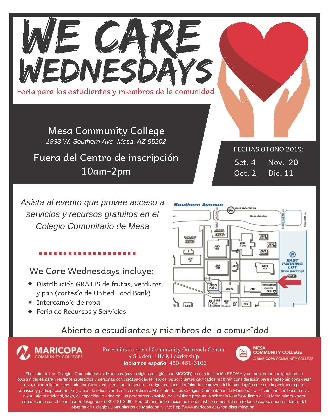 Services & Campus Resources | Student Life | Mesa Community