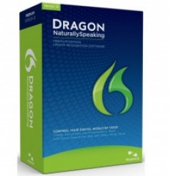Dragon Naturally Speaking 12 Product Box