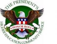 The President's Higher Education Community Service Honor Roll