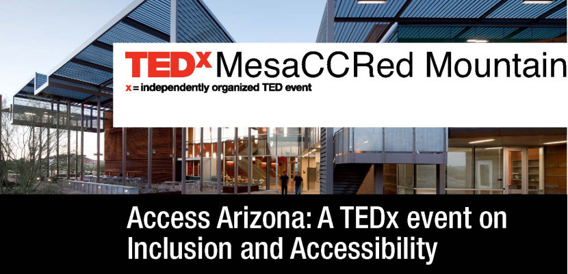Title of TEDx MesaCC Red Mountain event