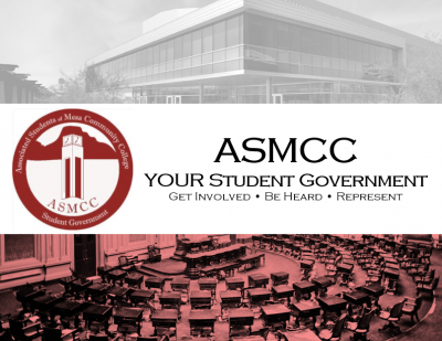 ASMCC Student Government Logo and Flyer