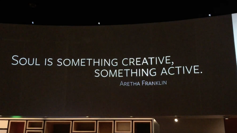 Soul is something creative, something active - Aretha Franklin