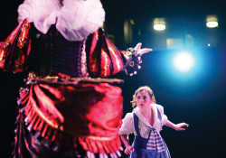 Alice in Wonderland picture from Theatre production