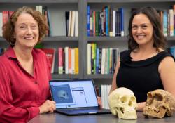 Dr. Annalisa Alvrus and Laura Ballard