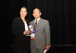 Sonia Filan and Dr. Shouan Pan