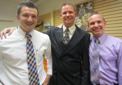 Bryce Bunker, Bill Lowman, Taylor Adair