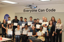 The first completers of Everyone Can Code