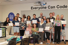 Second class of completers in Everyone Can Code