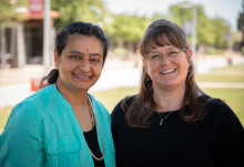 Dr. Annapurna Ganesh and Julie Garner