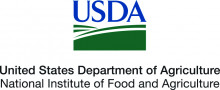 Logo: United States Department of Agriculture, National Institute of Food and Agriculture