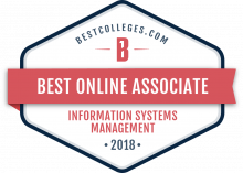 Bestcolleges.com Information Systems Management badge.
