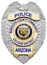 Maricopa County Community College District Police badge