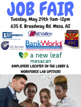 A New Leaf Job Fair May 29th